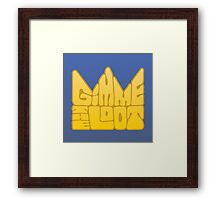 Gimme the Loot Framed Print