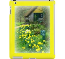 The Old Bakery at Branscombe iPad Case/Skin