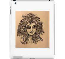Beautiful Zentangle Vintage Look Fairy iPad Case/Skin