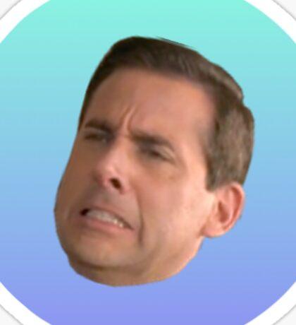 Michael Scott Face Sticker