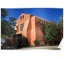 Santa Fe - Adobe Church Poster