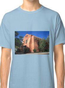 Santa Fe - Adobe Church Classic T-Shirt