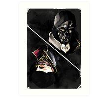 Dishonored tarot Art Print
