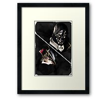 Dishonored tarot Framed Print