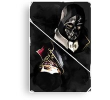 Dishonored tarot Canvas Print