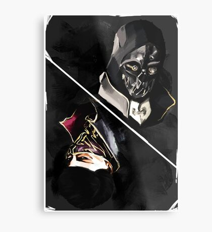 Dishonored tarot Metal Print