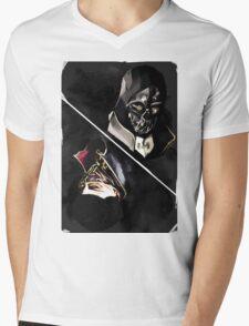 Dishonored tarot Mens V-Neck T-Shirt