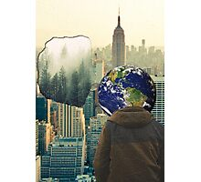 Earth's Painful Memories Photographic Print