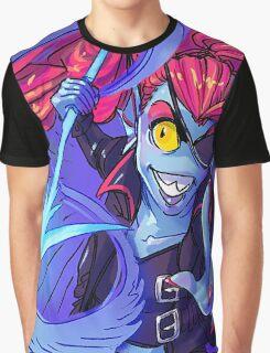 Undyne's Determination Graphic T-Shirt