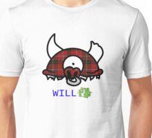 Tartan Plaid Record Head Unisex T-Shirt