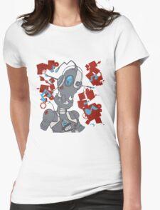 Rockin' Robot Womens Fitted T-Shirt