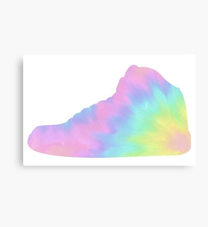Basketball Sneaker Canvas Print