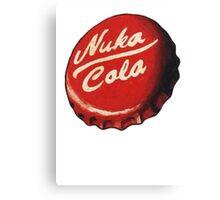 Nuka Cola Cap Canvas Print