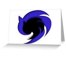 Sonic Emblem Greeting Card