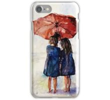 umbrella Girls iPhone Case/Skin