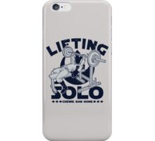 Lifting Solo iPhone Case/Skin