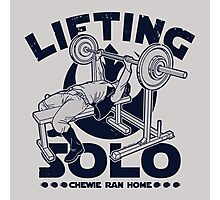 Lifting Solo Photographic Print