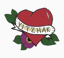 Yitzhak (Tattoo Heart)  One Piece - Long Sleeve