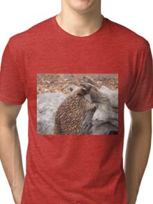 Echidna - looking for lunch. Tri-blend T-Shirt