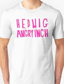 Hedwig and the Angry Inch (Pink Logo) T-Shirt