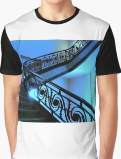 Blue Staircase  ^ Graphic T-Shirt