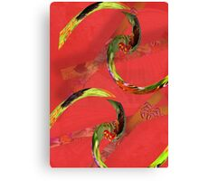Spicy Springs Rolls Canvas Print