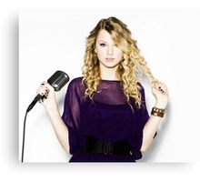 Beautiful Taylor Swift by doet Canvas Print