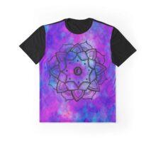 purple yin yang mandala Graphic T-Shirt