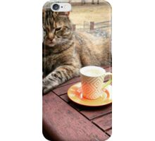 what is life w/o a coffee break? iPhone Case/Skin