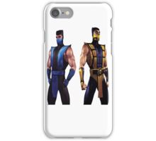 Mortal Kombat 4 Scorpion and Subzero iPhone Case/Skin