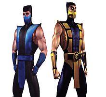 Mortal Kombat 4 Scorpion and Subzero by jmanflamegaming