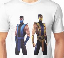 Mortal Kombat 4 Scorpion and Subzero Unisex T-Shirt