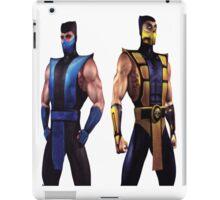 Mortal Kombat 4 Scorpion and Subzero iPad Case/Skin
