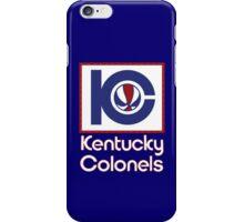 DEFUNCT - KENTUCKY COLONELS iPhone Case/Skin