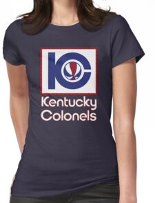 DEFUNCT - KENTUCKY COLONELS Womens Fitted T-Shirt