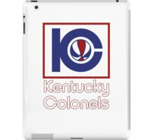 DEFUNCT - KENTUCKY COLONELS iPad Case/Skin