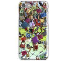 Lovers Locks in Salzburg iPhone Case/Skin