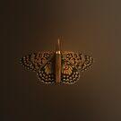 Bullet Butterfly by Kitty Bitty