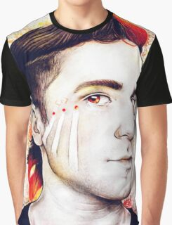 Nick Petricca ~ Different Colors Graphic T-Shirt