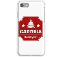 DEFUNCT - WASHINGTON CAPITOLS iPhone Case/Skin