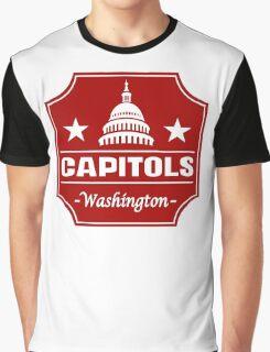 DEFUNCT - WASHINGTON CAPITOLS Graphic T-Shirt