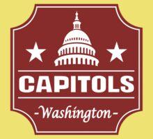 DEFUNCT - WASHINGTON CAPITOLS Kids Clothes