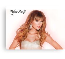 Beautiful Taylor Swift by doet2 Canvas Print