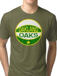 DEFUNCT - OAKLAND OAKS Tri-blend T-Shirt