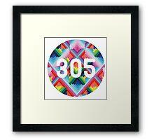305 miami wynwood walls Framed Print