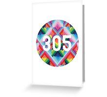 305 miami wynwood walls Greeting Card