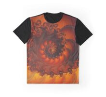 Decorative Shell Fractal  Graphic T-Shirt