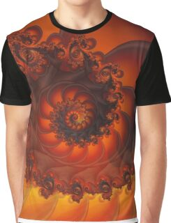 Decorative Shell Fractal  Graphic T-Shirt