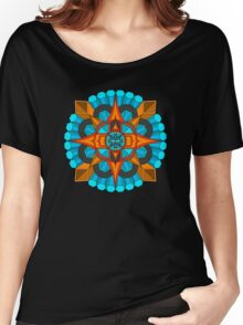 Abstract - Sundial Collection Women's Relaxed Fit T-Shirt