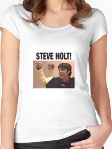 STEVE HOLT! Women's Fitted Scoop T-Shirt